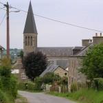 Montilly-sur-Noireau, le centre du bourg