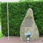 Montilly-sur-Noireau, stèle 1st Lieutenant Ward Kuentzel