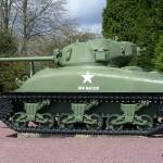 Montormel, mémorial bataille de Normandie, char Sherman M4