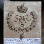 Montormel, mémorial bataille de Normandie, emblème Canadian Grenadier Guards