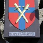 Montormel, mémorial bataille de Normandie, emblème 21st Army Group