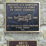 Neuilly-la-Forêt, monument 474th Fighter Group & 38th Signal Battalion