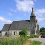 Orville, l'église Saint-Brice
