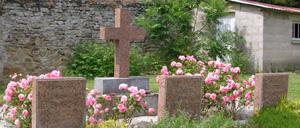 Parfouru-sur-Odon, monument lettrine