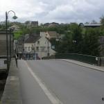 Pont-d'Ouilly, le pont de la D511 sur l'Orne