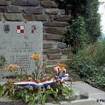 Pont-d'Ouilly, stèle aviateurs polonais