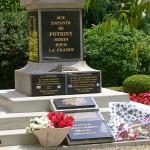 Potigny, plaques 2e Guerre mondiale