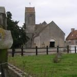 Poussy-la-Campagne, l'église Sain-Vaast du XIIe et XIVe siècle