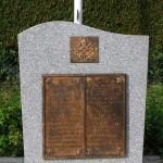 Putot-en-Bessin, stèle 1st Battalion The Canadian Scottish Regiment