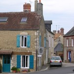 Rabodanges, le centre du bourg