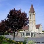 Rocquancourt, l'église Saint-Martin du XIIe siècle
