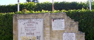 Rosel, monument lettrine
