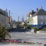 Saint-Aubin-sur-Mer, le centre ville