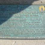 Saint-Aubin-sur-Mer, le Mur de l'Atlantique plaque WN 27