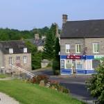Saint-Clair-de-Halouze, le centre du bourg