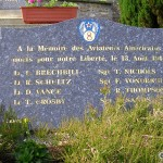 Saint-Clair de Halouze, plaque aviateurs américains