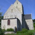 Saint-Côme-de-Fresné, l'église Saint-Côme et Saint-Damien du XIIe et XVe siècles