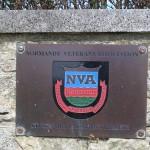 Sainte-Croix-sur-Mer, plaque Normandy Veterans Association