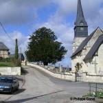 Sainte-Marguerite-des-Loges, le centre du bourg