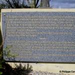 Sainte-Marguerite-des-Loges, monument pilotes rhodésiens de la RAF