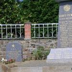 Sainte-Pience, stèle 1st Lieutenant Harry Katoski
