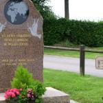 Saint-Georges-d'Annebecq, plaque aviateurs US Air Force