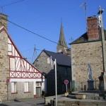 Saint-Georges-de-Rouelley, le centre ville