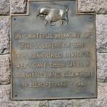 Saint-Georges-des-Groseillers, monument 11th Armoured Division