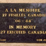 Saint-Germain la Blanche-Herbe, mémorial soldats canadiens