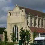 Saint-Germain la Blanche-Herbe, abbaye Notre-Dame d'Ardenne du XIIe siècle