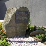 Saint-Sauveur-Lendelin, stèle General Omar Bradley