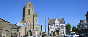Saint-Sauveur-Lendelin, ville lettrine