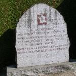 Tanville, stèle soldats 2e DB