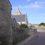 Tierceville, l'entrée sud du bourg