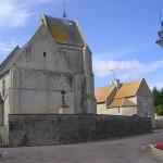 Tierceville, l'église Saint-Martin du XIIe siècle