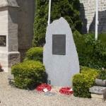 Lingèvres, monument 50th Infantry Division