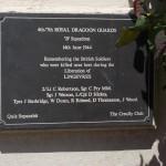 Lingèvres, stèle 4th/7th Royal Dragoon Guards