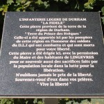 Lingèvres, stèle The Durham Light Infantry