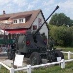Bénouville, canon anti-aérien Bofors 40 mm