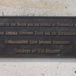 Bénouville, stèle Major Howard