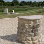 Bénouville, table d'observation