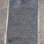 Bénouville, stèle Horsa Major Howard