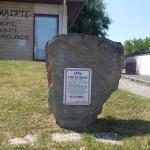 Biéville-Beuville, stèle Appel du 18 juin 1940