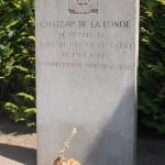 Biéville-Beuville, monument 1st Battalion The Suffolk Regiment