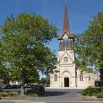 Cabourg, l'église Saint-Michel du XIXe siècle