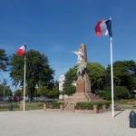Cabourg, le monument aux Morts square des Poilus
