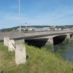 Cabourg, le pont sur la Dives