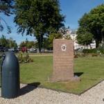 Cabourg, stèle Brigade Piron