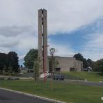 Cahagnes, l'église du XXe siècle