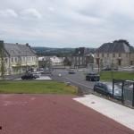 Cahagnes, le centre ville